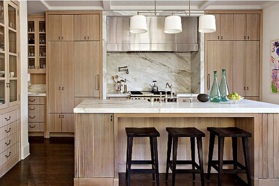 The End Of The All White Kitchen The Case For Natural Wood